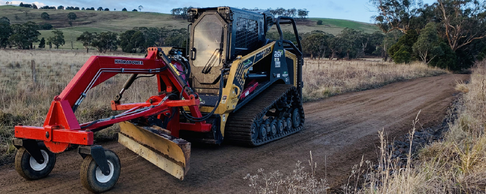 Driveway grading services in Melbourne
